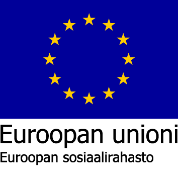 Euroopan Unioni Sosiaalirahasto logo