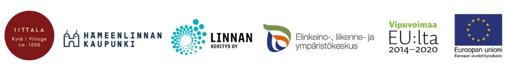 Rahoittajien logot Go Iittala Village Hankkeessa.